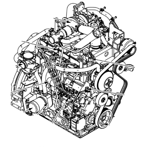 Case N843LT-F-27 N843T-F-24 ISM Tier 4 Engine Official