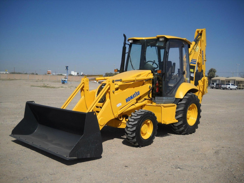 Komatsu WB146-5 Backhoe Loader Official OEM Workshop Service Repair Manual