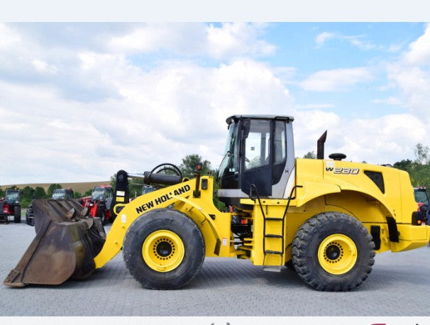 New Holland W230 Wheel Loader Official Workshop Service Manuel technique de réparation