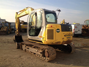 New Holland E80MSR Midi Crawler Excavator Official Workshop Service Repair Technical Manual