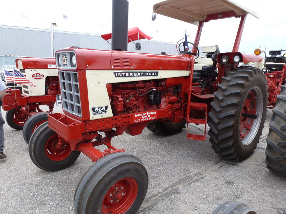 Ih International Harvester 544 656 666 686 Farmall Diesel