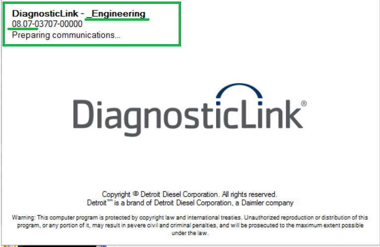 Detroit Diesel Diagnostic Link (DDDL 8.07) 2018 -ALL Grayed Parameters Enabled ! Online Installation Service Included !