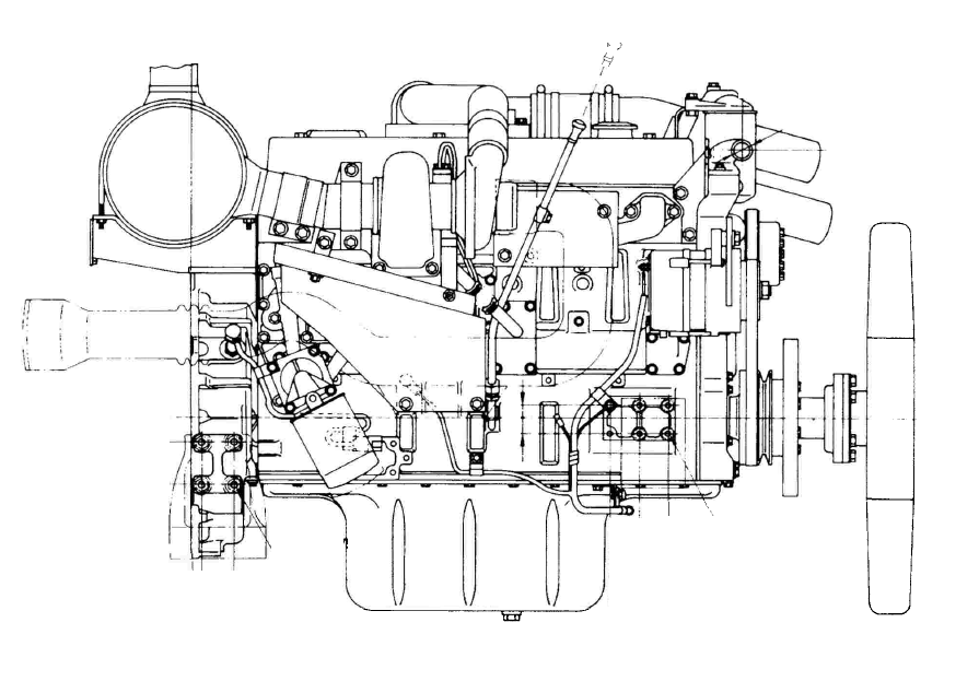 Komatsu 95 Series S6D95L-1 SA6D95L-1 SAA6D95LE-1 Diesel Engine Official Service Manual