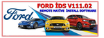 Ford IDS Diagnostic Software 111.01 -  2018 Version With Online & Offline Programming NATIVE Install ! Online installation Service !
