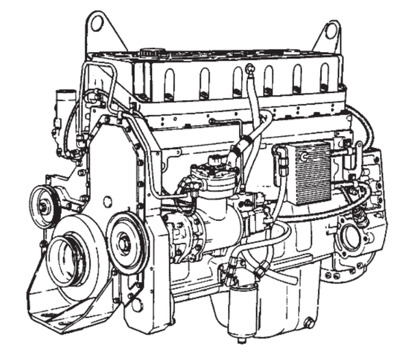 Cummins L10&M11 Series Engine Official Alternative Repair