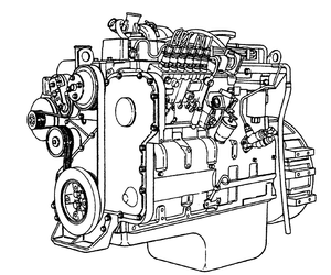 Komatsu 114 Series 6D114E-1 Diesel Engine Official Workshop Service Repair Manual