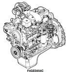 New Holland CNH U.K. F4GE0404B F4GE0454C F4GE0484G Engines Workshop Service Repair Manual