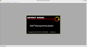 Detroit Diesel Diagnostic Link (DDDL 8 06) The Only Real Engineering Level  ! MCM and CPC Programming Is Enabled !
