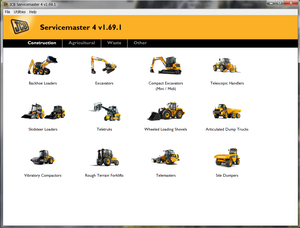 JCB ServiceMaster 4 - v1.69.2 Diagnostic Software -2018 Latest Version ! Licensed For More Then 1 Pc !