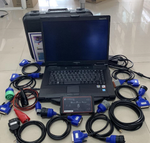 MAN Cats II (DPA5 T200) Heavy Duty Truck Diagnostic Interface With CF-52 Laptop Ready To Work