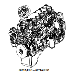 New Holland CNH U.K. 667TA/EEG -667TA/EEC-667TA/EBF 667TA/EED-667TA/EBD Engine Service Repair Workshop Manual