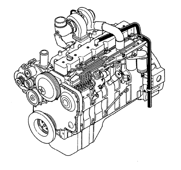 Komatsu KDC 614 Series Engine Official Troubleshooting and