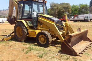 416D Backhoe Loader Workshop Service Repair Manual S/N : B2D
