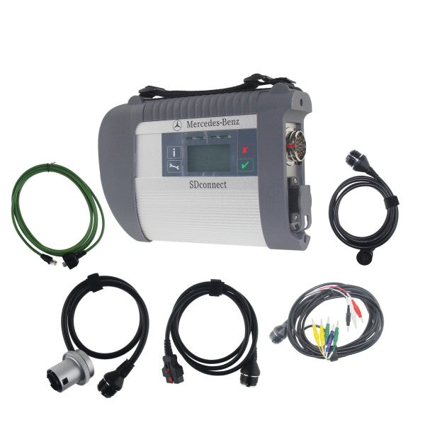 Star C4 SD Connect Diagnostic Adapter Tool Kit For Mercedes - Include Latest Xentry 2017 - Full Online Installation & Support Service !