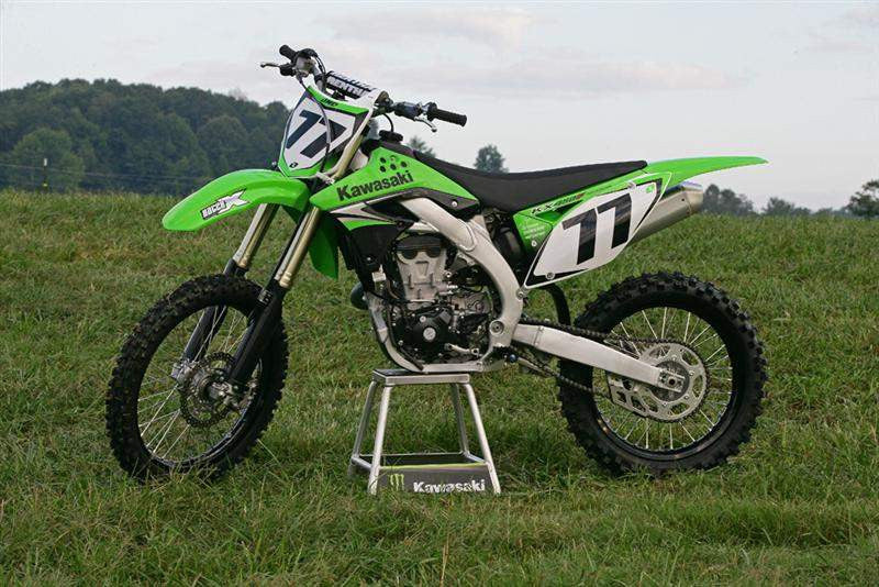 Kawasaki KX450F 4-Stroke Workshop Service Repair Manual 2005-2008