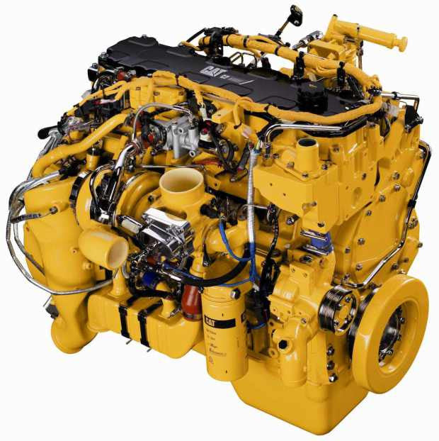 Caterpillar C7 C7s Truck Diesel Engine Disassembly