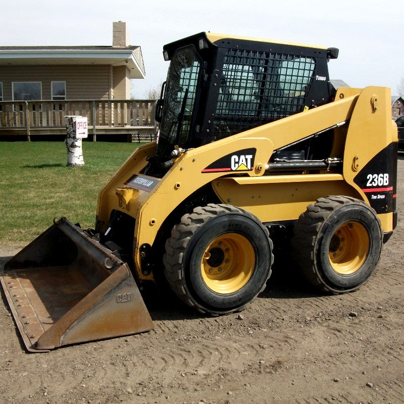 Caterpillar 216B 226B 232B 236B 242B 246B 248B 252B 262B and 268B Skid Steer Loaders Operation and Maintenance Manual