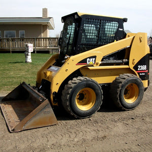 caterpillar 216b 226b 232b 236b 242b auxiliary hydraulic electronic rh the best manuals online com 232 Cat Skid Steer Cat 232 Skid Steer Specs