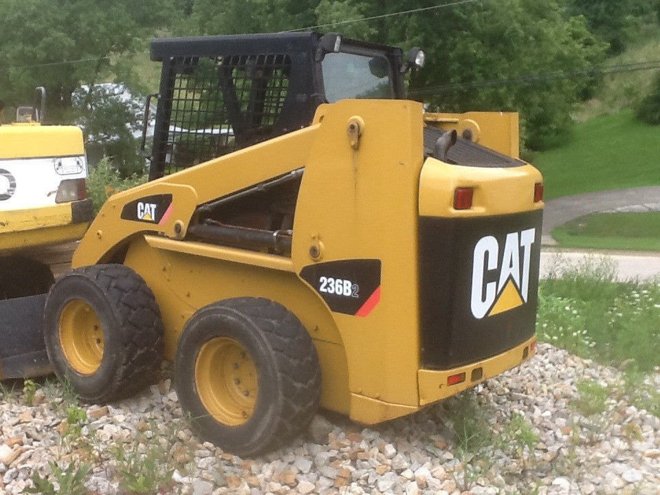 Caterpillar 236B2 Skid Steer Loader Parts Manual \ Parts Catalog