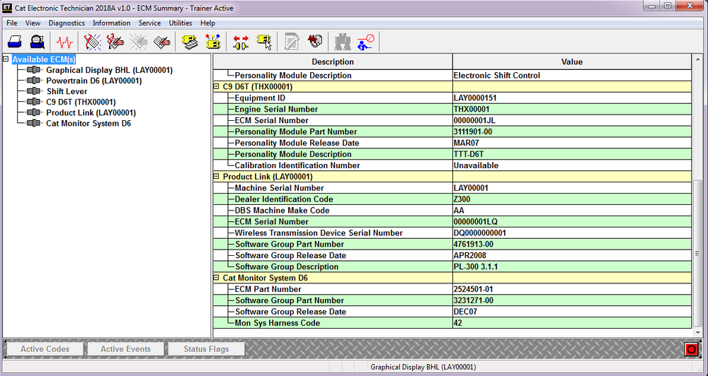 Electronic Technician ET2020A With Password Generator Build in ! Diagnostics Software For All Caterpilllar Models