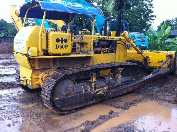 Komatsu D50A-16 D50P-16 D50PL-16 Bulldozer Official Workshop Service Repair Technical Manual