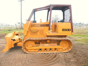 Case 850D 855D Crawler Dozer Loader Service Repair Manual & Operators Manual