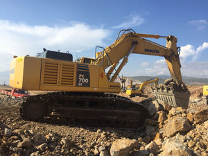 Komatsu PC700LC-8E0 Pelle Hydraulique Officiel de Montage Manuel d'Instruction