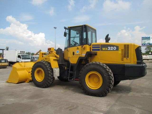 Komatsu WA320-5 Wheel Loader Official Workshop Service Repair Technical Manual