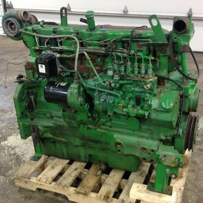 John Deere 6076 Natural Gas Engines Components Technical Service Manual CTM82