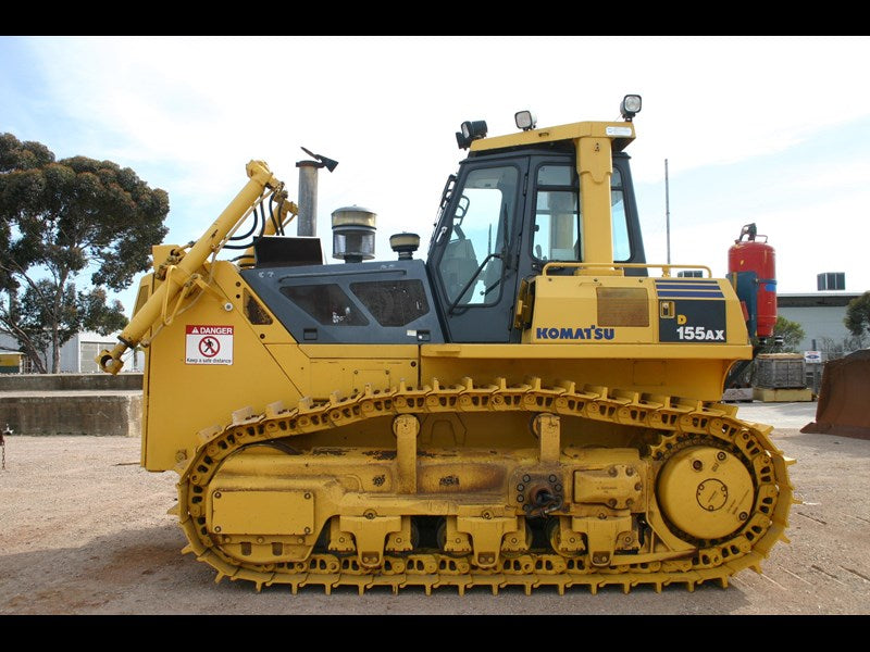 Komatsu D155AX-5 Komatsu Iblade Specification Bulldozer Official Workshop Service Manual
