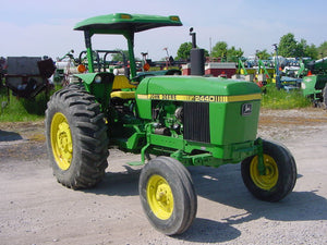 John Deere 2440 AND 2640 Tractors Workshop Technical Service Manual