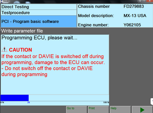DAF / PACCAR / Peterbilt Diagnostic Laptop Include VCI 1.0 Interface & Davie XDC Software - Latest 2018 Updated