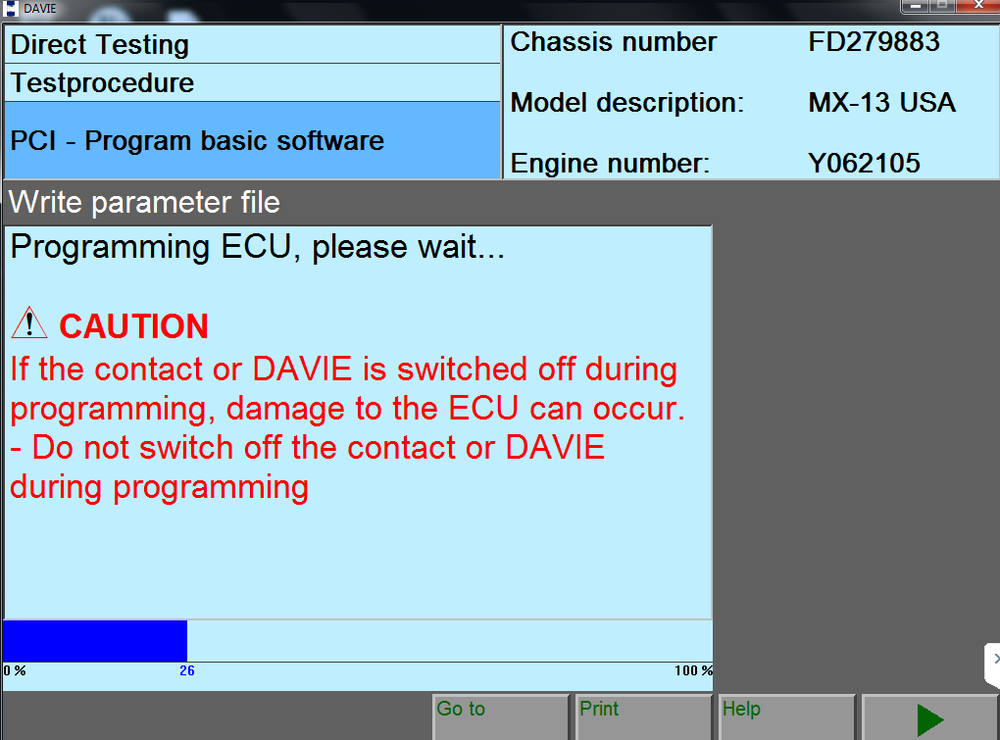 DAF / PACCAR VCI 1.0 Interface & Davie Software KIT 2018 - Diagnostic Adapter- Include Latest Davie XDc II  ! Full Online Installation & Support !