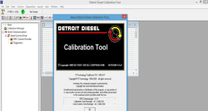 Detroit Diesel Calibration Tool (DDCT) v4.5 English Include Calibrations & Metafiles