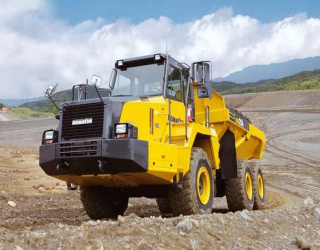 Komatsu HA250 HA270 Articulated Dump Truck Official Workshop Service Repair Manual