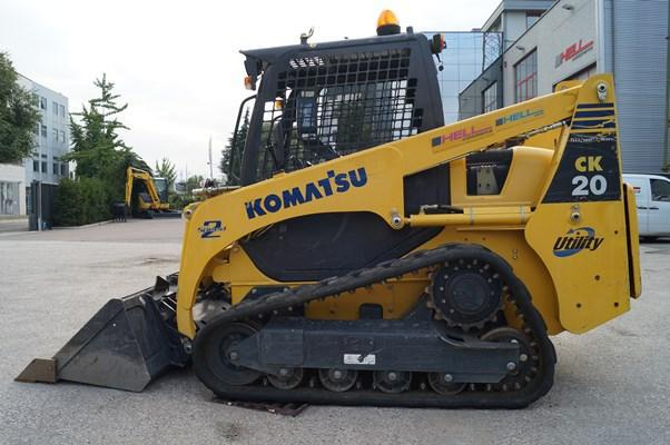 Komatsu CK20-1 Crawler Skid Steer Loader OEM Official Workshop Service Repair Manual
