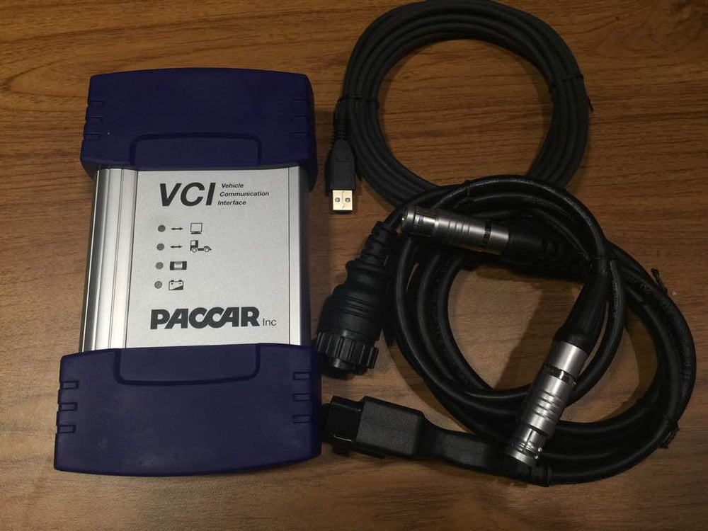 PACCAR VCI-560 Interface & Davie Software KIT - Diagnostic Adapter- Include Latest Davie XDc II ! Full Online Installation & Support !