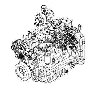 New Holland CNH NEF F4CE F4DE F4GE F4HE 6 Cylinders Tier 3 Engines Official Workshop Service Repair Technical Manual