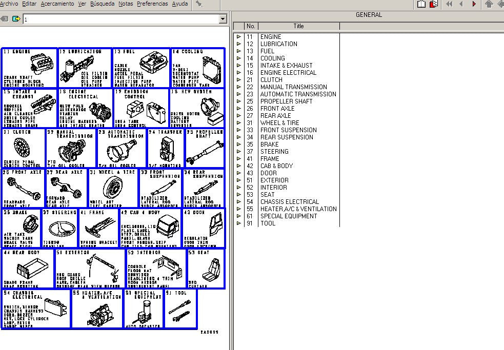 mitsubishi fuso trucks parts manual software  epc  all