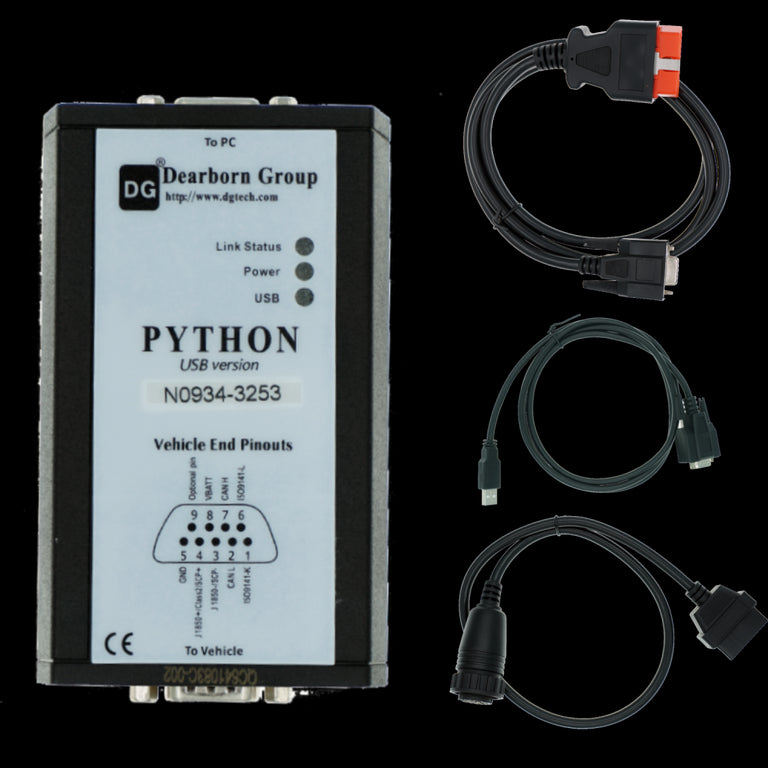 KUBOTA \ TAKEUCHI DIAGNOSTISCHE KIT (PYTHON) Diagnostische adapter- Diagmaster 2019-software! Volledige online installatie- en activeringsservice!