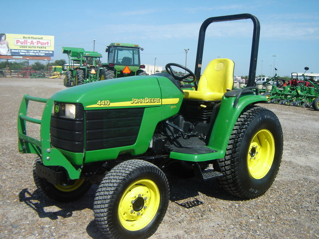 John Deere Compact Utility Tractors 4210 4310 - 4410 Official Workshop Service Repair Technical Manual