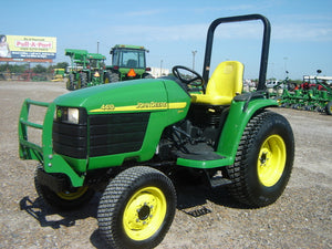 John Deere Compact Utility Tractors 4210 4310 & 4410 ... on john deere 4410 parts diagram, john deere 4410 oil filter, john deere 4410 fuel pump, john deere 4410 specifications, john deere 4410 fuel system, john deere 4410 cover, john deere 4410 battery,