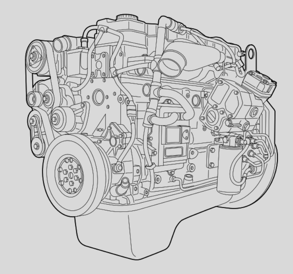 Daf LF45 LF55 CF65 Series BE CE Engine Official Component