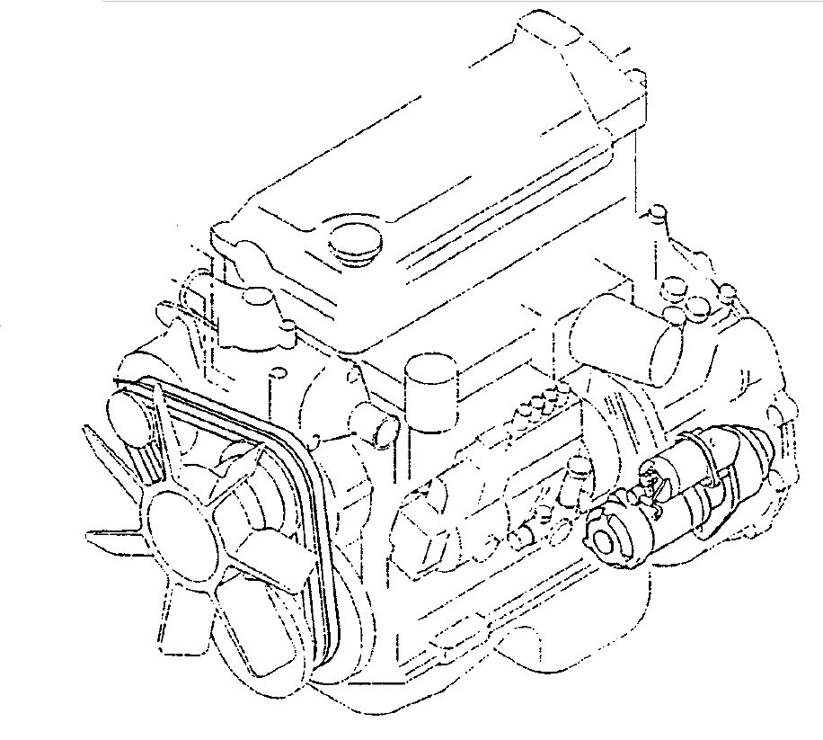 Hino J05D-TI J05E-TI Engine Official Workshop Service