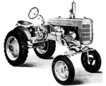 Case IH Farmall A AV  B BN International A Tractors U-2 Power Units Official Workshop Service Repair Manual
