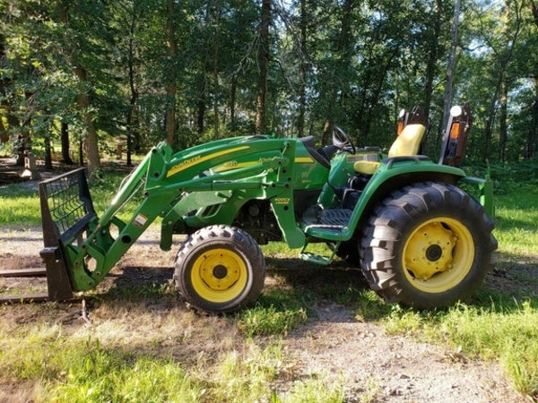 John Deere 4120 4320 4520 4720 Compact Utility Tractor Official Operat –  The Best Manuals OnlineThe Best Manuals Online