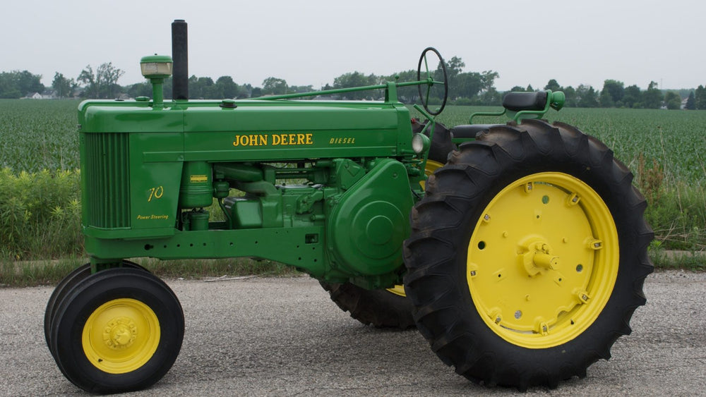 John Deere 70 Diesel Tractor & Engine Official Workshop Service Manual