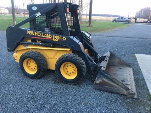 New Holland LS160 LS170 Skid Steer Steer Loader Official Workshop Service Repair Technical Manual