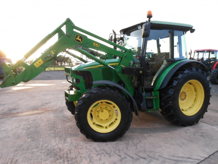 John Deere 5620 5720 5820 2WD or MFWD Tractors Official Diagnosis and Tests Service Manual TM4791