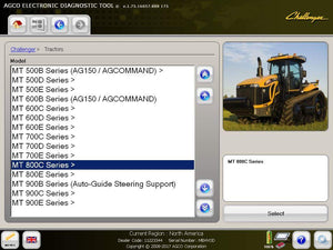 AGCO EDT Electronic Diagnostic Tool 1.91 - Activation For ALL Brands - Latest 2019 Version - Online Installation Service